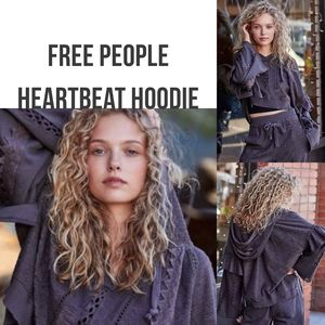 Coming Soon! FP Movement Gray Heartbeat Hoodie